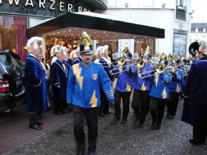 Fahnenhissung 2007