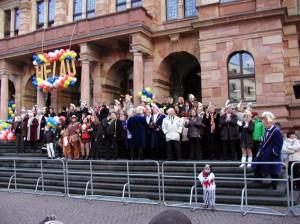 Verleihung des Stadtordens 2008