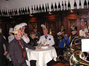 Fahnenhissung 2009