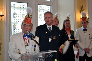 Jubliläums-Sektempfang im Rathaus 2011