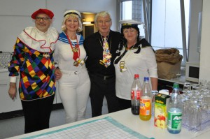 Kindermaskenball in der Galatea-Anlage