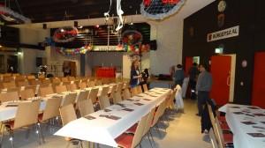 Aufbau Rustikaler Abend 2015