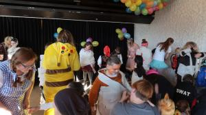 Kindermaskenball in der Galateaanlage