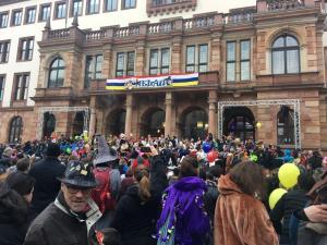 Sturm auf's Rathaus