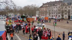 Fastnachtssonntagumzug in den Straßen von Wiesbaden 2019