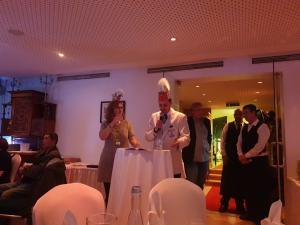 """Kampagneneröffnung im Restaurant """"Opelbad"""""""