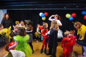 Kindermaskenball in der Galateaanlage 2020